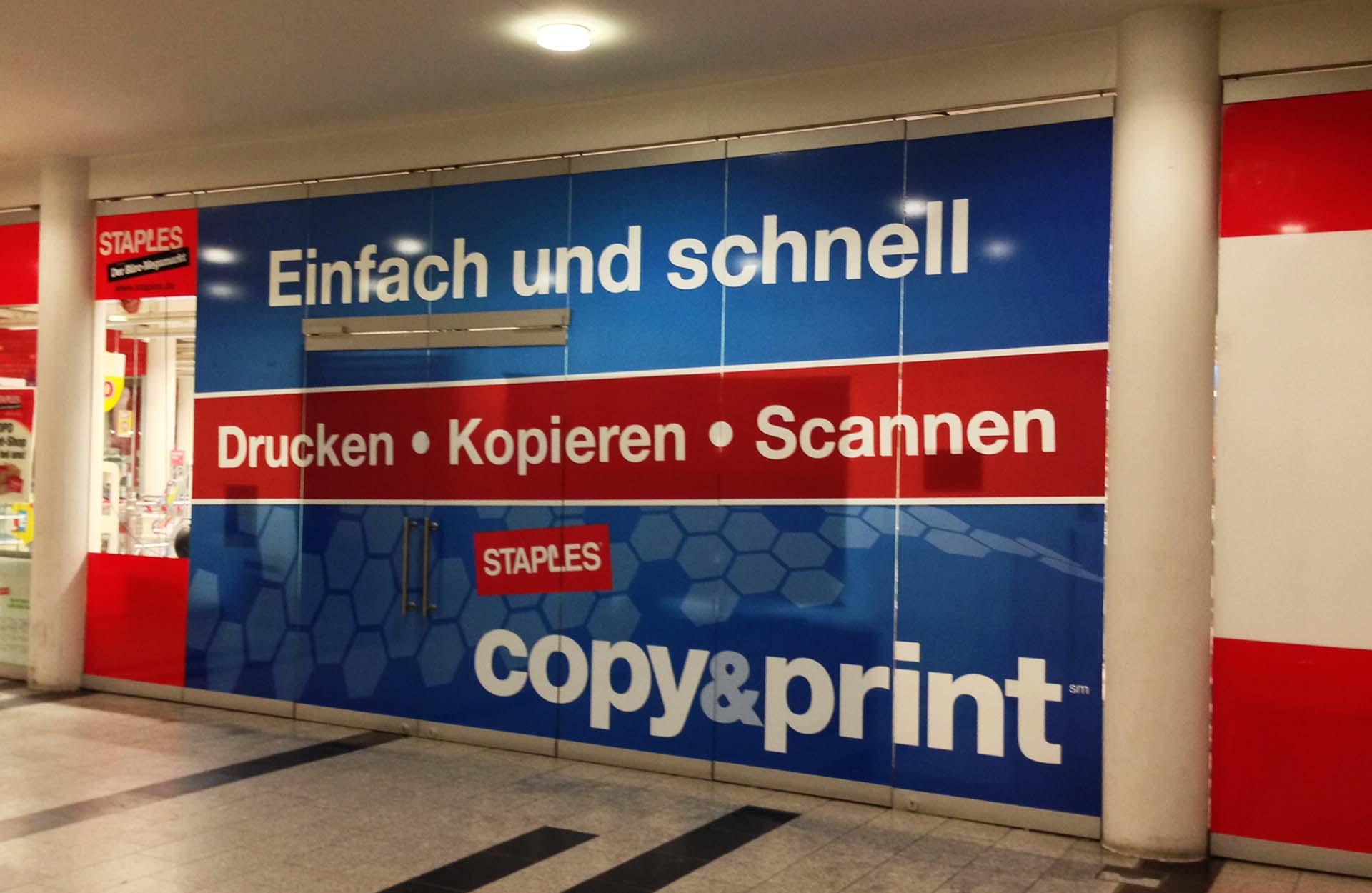 Aufkleber Sticker Brawia Werbetechnik Heilbronn